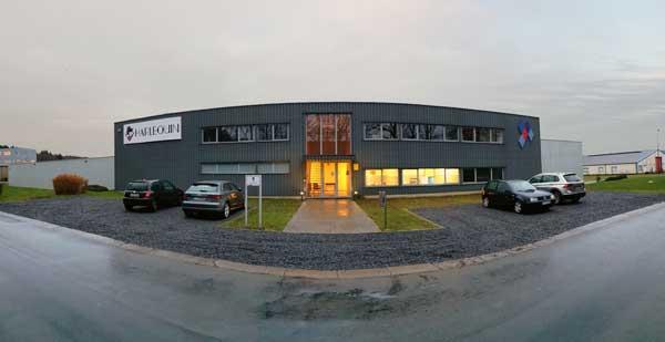 Harlequin Central Operations in Liège, Belgium. © Harlequin Floors