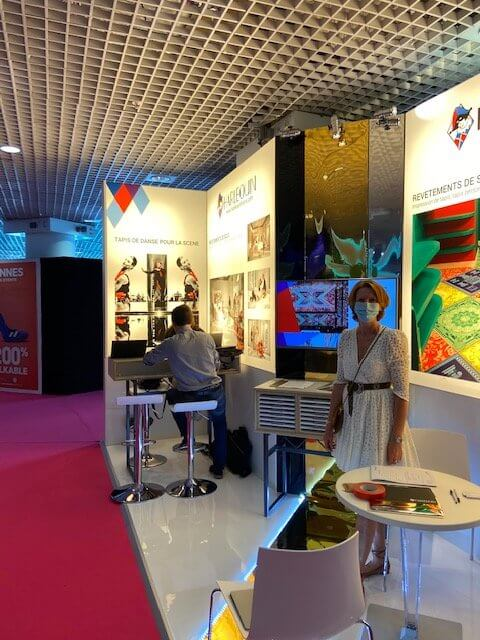 Harlequin exhibits at Heavent Meetings 2020 in Cannes