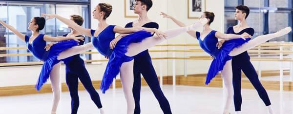 Young talent training across the street from the Royal Opera House